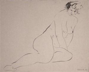Paris Nude #28 by Anna Walinska