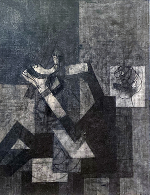 Untitled (Reclining Figure), 1950