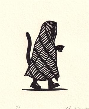 Gato con Taza (2/50), 2020