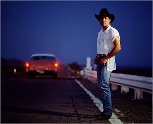 97035 Clint Black On the Highway with Car Color, 1997