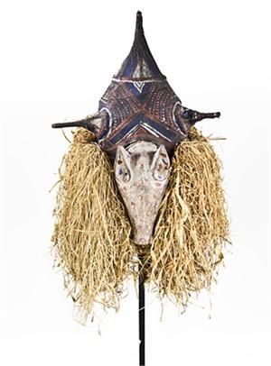 Yaka Mask Cermonial/Zaire, c1930