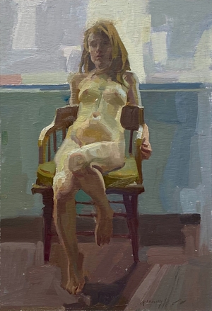 Seated by Quang Ho