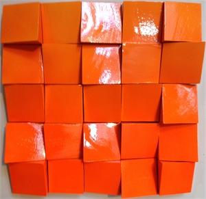 Neon Waves Orange, 2019