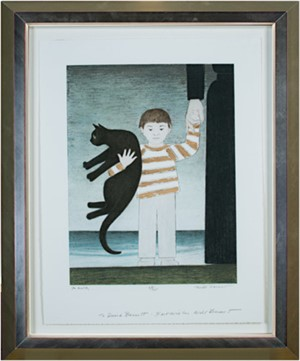 The Walk (Inscribed to David Barnett-Best Wishes Will Barnet) (68/75), 2001