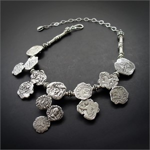 Necklace - A Circle of Coins #31906