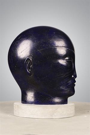 Small Blue Head, 2019