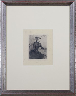 Seated Woman, c1890