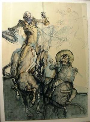 Don Quichotte & Sancho Panza, c.1972
