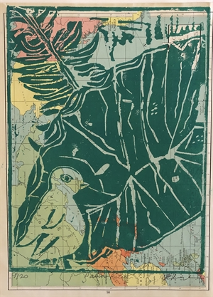 Palm Monoprint 9/20 (SPECIAL PRICING), 2020