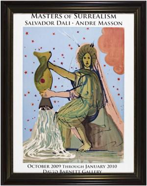 Masters of Surrealism: Dali & Masson Oct. '09-Jan. '10 D. Barnett Gallery Exhibit, 2009