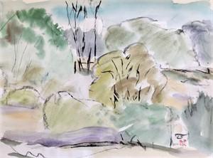 Untitled Landscape (#6), 1986