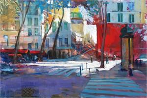 Morning Sun Paris Streets