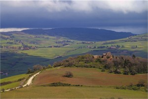 Val D'Orcia from Pienza, Italy, 2005