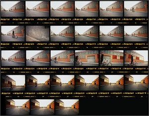 03050 Indian Larry 1147 Contact Sheet Color, 2003