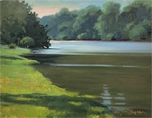 Mill Pond Morning by Jill Stefani Wagner PSA-MP IAPS/MC