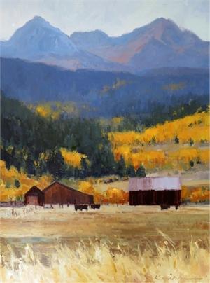 Golden Backdrop