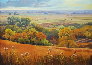 A Morning Symphony on the KS Prairie by Cally Krallman