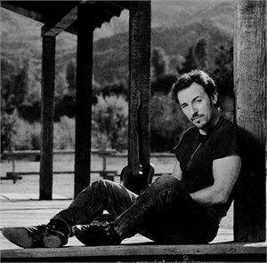 91152 Bruce Springsteen Porch F13 BW, 1991