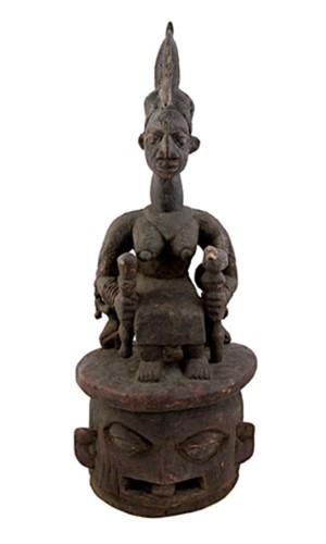 Ceremonial Dance Mask, Epa  - Nigeria, c. 1900