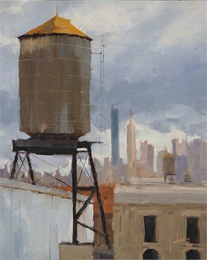 Soho Rooftop No 16, North by Julie Davis