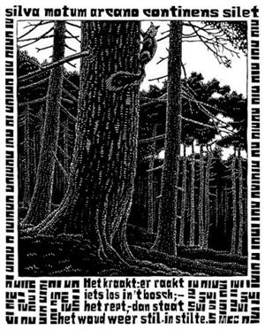 Emblemata - Squirrel, 1931