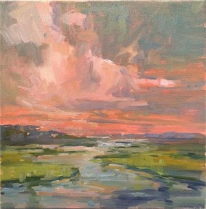 """Study for """"Changing Grace"""" (Figure 8 Island, NC)"""
