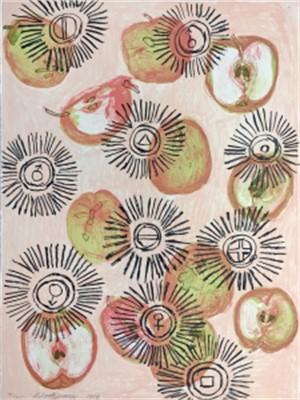 Apple Oil I (59/60), 1998