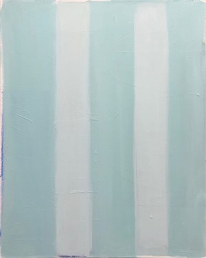 Stripes in Turquoise, 2019