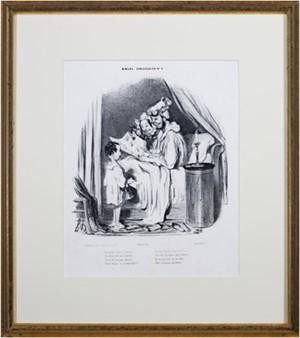 Ce Matin Avant L'Aurore... (Moeurs Conjugales No. 4) Loys Delteil #627, 1839