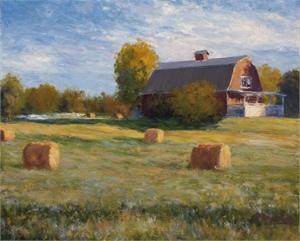 Hay, Barn, September