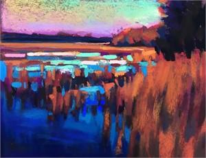 Winter Marsh by Susan Mayfield