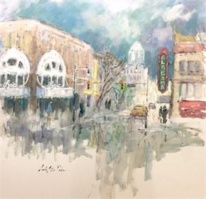 Downtown Date Night by Linda Ellen Price