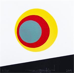 The Above Disks (Framed) (15/20), 2019
