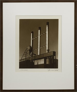 Silver Stacks, signed, 1941