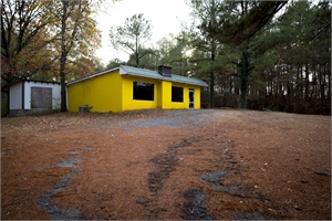 Late Harvest: Yellow Building, Rockford, AL by Forest McMullin