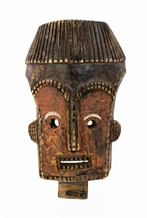 Secret Society Ceremonial Mask-Lualua, Congo, c.1930