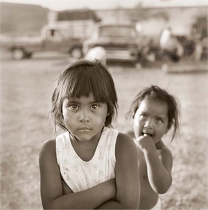 Sisters, Boquillas, Mexico (1/25), 1995