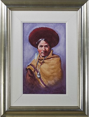 Vestido De La Region (Regional Costume)-Cuzco, 1992