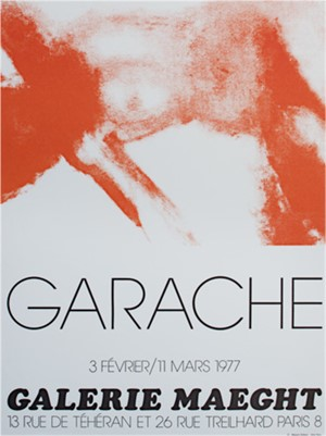 Galerie Maeght Exhibition Poster, 1977