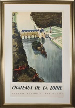 Chateaux De La Loire (Societe Nationale des Chemins de Fer Francais), 1947