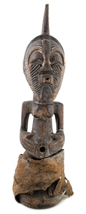 Songye Statue Used As Fetish-Zaire, c.1890