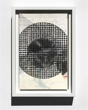 Circle, Black, Study No.73, 2018