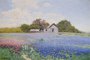 Bluebonnet Landscape, c. 1930