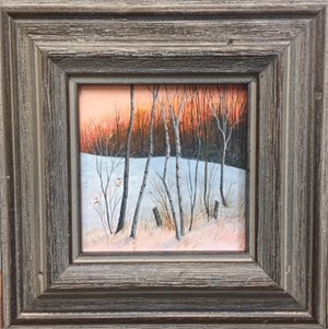 Winter Warmth - Minature Painting