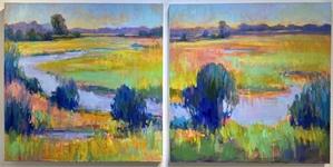 Celery Field 1  by Linda Richichi