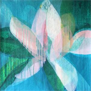 (Magnolia II) Maya Blue, 2019