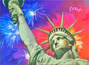 Statue of Liberty - Fireworks