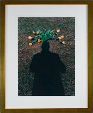 Self Portrait: Homage to Magritte - Tulip Top Headdress (AP I/XXV), 2003