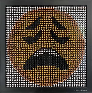 Emoji Screw Series - Weary Face