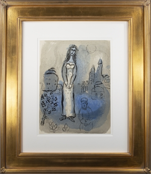 Esther, M 252/275 by Marc Chagall